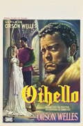 "Movie Posters:Drama, Othello (Royal Films, 1952). Belgian (14"" X 22"").. ..."