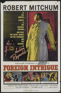 "Foreign Intrigue (United Artists, 1956). One Sheet (27"" X 41""). Thriller"