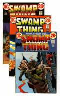 Bronze Age (1970-1979):Horror, Swamp Thing #2-10 Group (DC, 1972-73) Condition: Average VF-.... (Total: 10 Comic Books)