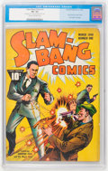 Golden Age (1938-1955):Superhero, Slam-Bang Comics #1 (Fawcett, 1940) CGC VG- 3.5 Cream to off-white pages....