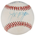 Autographs:Baseballs, Big Red Machine Multi-Signed Baseball. ...