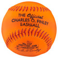 Baseball Collectibles:Others, The Official Charles O. Finley Baseball. ...