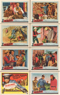"""Movie Posters:Western, The Lone Ranger and the Lost City of Gold (United Artists, 1958).Lobby Card Set of 8 (11"""" X 14"""").. ... (Total: 8 Items)"""