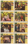"Movie Posters:Mystery, Charade (Universal, 1963). Lobby Card Set of 8 (11"" X 14"").. ...(Total: 8 Items)"
