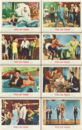 "Movie Posters:Elvis Presley, Viva Las Vegas (MGM, 1964). Lobby Card Set of 8 (11"" X 14"").. ...(Total: 8 Items)"