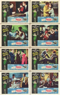 "Movie Posters:Romance, Breakfast at Tiffany's (Paramount, R-1965). Lobby Card Set of 8(11"" X 14"").. ... (Total: 8 Items)"