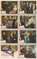 "Movie Posters:Hitchcock, Saboteur (Universal, 1942). Lobby Card Set of 8 (11"" X 14"").. ...(Total: 8 Items)"