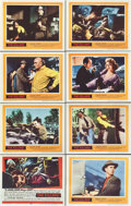 "Movie Posters:Film Noir, The Killing (United Artists, 1956). Lobby Card Set of 8 (11"" X14"").. ... (Total: 8 Items)"