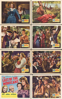 """The Last of the Mohicans (United Artists, 1936). Lobby Card Set of 8 (11"""" X 14""""). ... (Total: 8 Items)"""