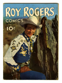 Four Color #38 Roy Rogers (#1) (Dell, 1944) Condition: GD/VG