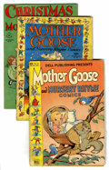 Golden Age (1938-1955):Miscellaneous, Four Color Walt Kelly Mother Goose Group (Dell, 1944-49) Condition: Average VG-.... (Total: 6 Comic Books)