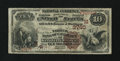 National Bank Notes:Missouri, Kansas City, MO - $10 1882 Brown Back Fr. 483 The NB of CommerceCh. # (M)3760. ...