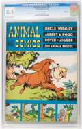 Golden Age (1938-1955):Funny Animal, Animal Comics #27 File Copy (Dell, 1947) CGC VF+ 8.5 Off-whitepages....