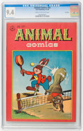 Golden Age (1938-1955):Funny Animal, Animal Comics #22 File Copy (Dell, 1946) CGC NM 9.4 Cream tooff-white pages....