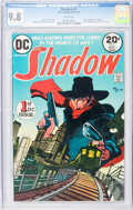 Bronze Age (1970-1979):Miscellaneous, The Shadow #1 (DC, 1973) CGC NM/MT 9.8 White pages....
