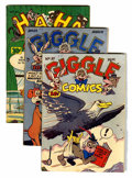 Golden Age (1938-1955):Humor, Miscellaneous Golden Age Humor Group (Various Publishers, 1950s).... (Total: 7 Comic Books)