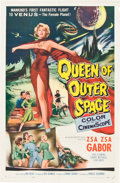 "Movie Posters:Science Fiction, Queen of Outer Space (Allied Artists, 1958). One Sheet (27"" X 41"").. ..."