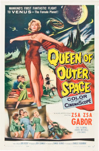 "Queen of Outer Space (Allied Artists, 1958). One Sheet (27"" X 41"")"