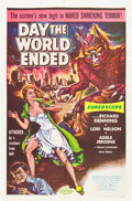 """Movie Posters:Science Fiction, Day the World Ended (American Releasing Corp., 1956). One Sheet(27"""" X 41"""").. ..."""