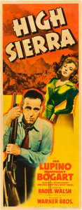 "Movie Posters:Film Noir, High Sierra (Warner Brothers, 1941). Insert (14"" X 36"").. ..."