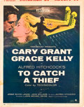 "Movie Posters:Hitchcock, To Catch a Thief (Paramount, 1955). Autographed Window Card (14"" X 18"").. ..."