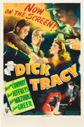 """Movie Posters:Crime, Dick Tracy (RKO, 1945). One Sheet (27"""" X 41"""").. ..."""