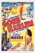 "Movie Posters:Black Films, Gone Harlem (Sack Amusement Enterprises, 1939). One Sheet (27"" X41"").. ..."