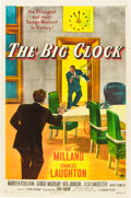 "Movie Posters:Film Noir, The Big Clock (Paramount, 1948). One Sheet (27"" X 41"").. ..."