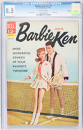Silver Age (1956-1969):Romance, Barbie and Ken #4 File Copy (Dell, 1963) CGC VF+ 8.5 Off-whitepages....