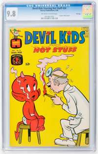 Devil Kids Starring Hot Stuff #24 File Copy (Harvey, 1966) CGC NM/MT 9.8 Off-white to white pages