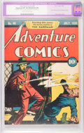 Golden Age (1938-1955):Superhero, Adventure Comics #40 (DC, 1939) CGC Apparent VF 8.0 Moderate (P) Cream to off-white pages....