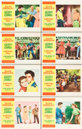"Movie Posters:Elvis Presley, Loving You (Paramount, 1957). Lobby Card Set of 8 (11"" X 14"").. ... (Total: 8 Items)"