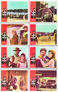 """Movie Posters:Western, A Fistful of Dollars (United Artists, 1967). Lobby Card Set of 8 (11"""" X 14"""").. ... (Total: 8 Items)"""