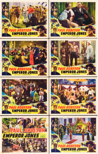 """The Emperor Jones (Screencraft, R-1930s). Lobby Card Set of 8 (11"""" X 14""""). ... (Total: 8 Items)"""