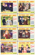 "Movie Posters:Drama, Going My Way (Paramount, 1944). Lobby Card Set of 8 (11"" X 14"")..... (Total: 8 Items)"