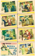 """Movie Posters:Drama, Stella Dallas (United Artists, 1937). Lobby Card Set of 8 (11"""" X14"""").. ... (Total: 8 Items)"""