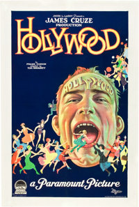 "Hollywood (Paramount, 1923). One Sheet (27"" X 41"") Style A"