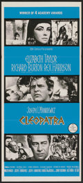 "Movie Posters:Historical Drama, Cleopatra (20th Century Fox, 1963). Australian Daybill (13"" X 30"").Historical Drama.. ..."