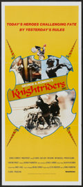 """Movie Posters:Action, Knightriders (United Artists, 1981). Australian Daybill (13"""" X 30""""). Action.. ..."""