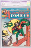 Golden Age (1938-1955):Superhero, All-American Comics #16 (DC, 1940) CGC Apparent VF 8.0 Extensive (P) Cream to off-white pages....