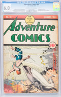 Golden Age (1938-1955):Superhero, Adventure Comics #41 (DC, 1939) CGC FN 6.0 Cream to off-white pages....