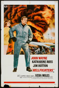 """Movie Posters:Action, Hellfighters (Universal, 1969). One Sheet (27"""" X 41""""). Action.. ..."""