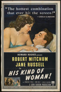 "Movie Posters:Crime, His Kind of Woman (RKO, 1951). One Sheet (26"" X 41""). Crime.. ..."