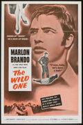 "Movie Posters:Drama, The Wild One (Columbia, R-1960). One Sheet (27"" X 41""). Drama.. ..."