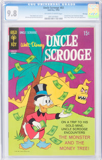 Uncle Scrooge #83 File Copy (Gold Key, 1969) CGC NM/MT 9.8 Off-white to white pages