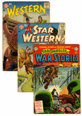 Golden Age (1938-1955):War, Miscellaneous Golden Age War and Western Group (Various Publishers, 1950s) Condition: Average VG.... (Total: 7 Comic Books)