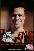 """Movie Posters:Action, Fight Club (20th Century Fox, 1999). One Sheets (2) (27"""" X 40"""") SSAdvance. Brad Pitt Style and Edward Norton. Action.. ... (Total: 2Items)"""