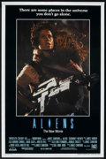 "Movie Posters:Science Fiction, Aliens Lot (20th Century Fox, 1986). International & RegularOne Sheets (2) (27"" X 41"") SS. Science Fiction.. ... (Total: 2Items)"