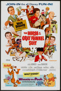 "Movie Posters:Animated, Winnie the Pooh and the Blustery Day/Horse in the Gray Flannel Suit Combo (Buena Vista, 1969). One Sheet (27"" X 41""). Animat..."