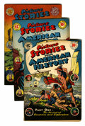 Golden Age (1938-1955):Non-Fiction, Picture Stories From History and Science Comics and Others Group(EC, 1945-47) Condition: Average VG/FN.... (Total: 10 Comic Books)